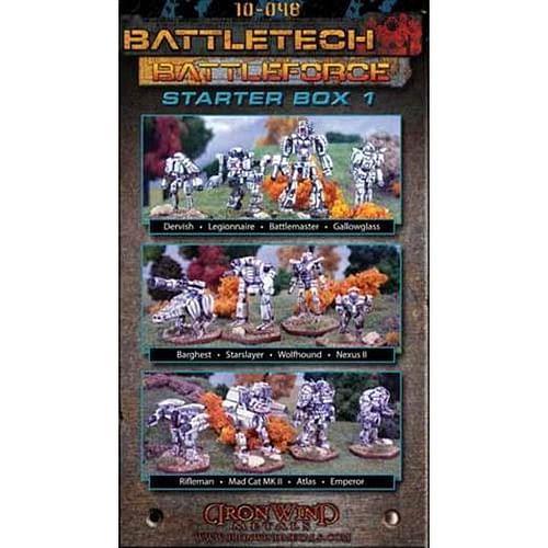 Battleforce Scale Starter Box 1: Inner Sphere - 3 Lances
