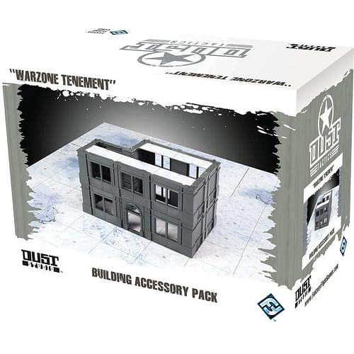 Dust Tactics: Building Accessory Pack - Warzone Tenement