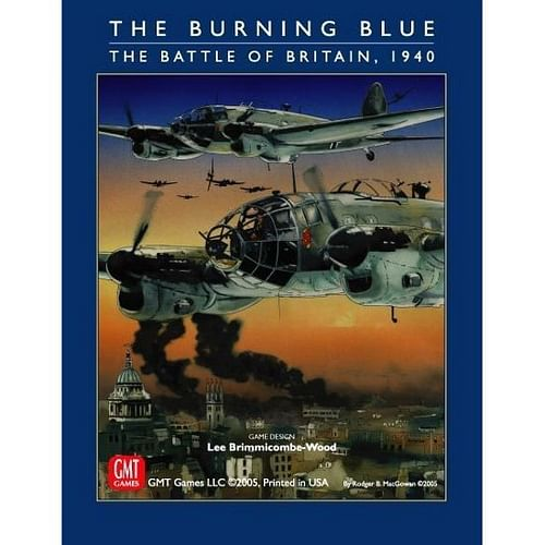 The Burning Blue