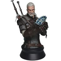 Busta Geralta hrajícího Gwent
