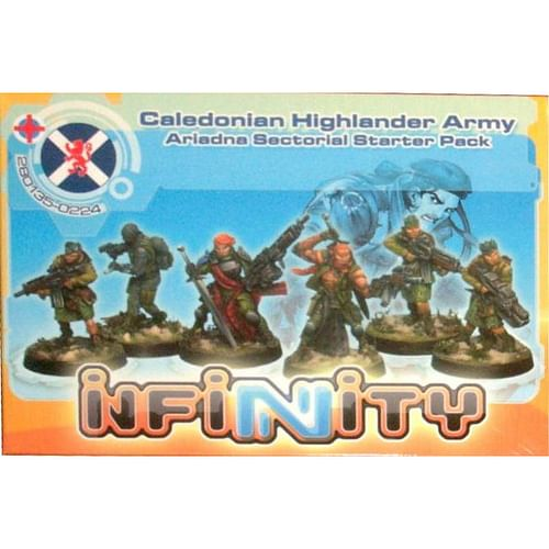 Infinity: Caledonian Highlander - Ariadna Sectorial Starter Pack