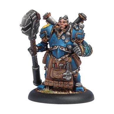 Warmachine: Cygnar - Captain Arlen Strangewayes