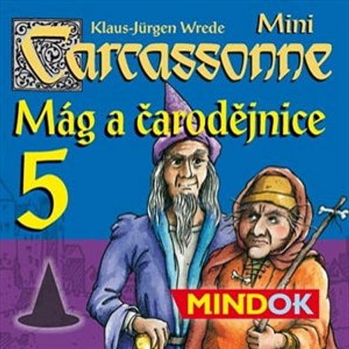Carcassonne Mini 5 - Mág a čarodějnice