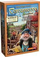 Carcassonne - Opatství a starosta (rozšíření)