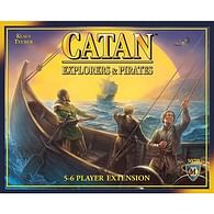 Catan: Explorers and Pirates 5-6 Player Extension