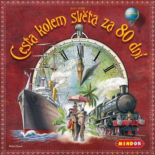 Cesta kolem světa za 80 dní (desková hra)
