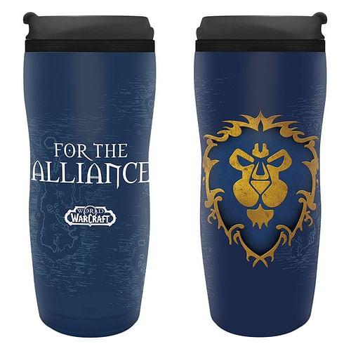 ABYstyle Cestovní hrnek World of Warcraft - Alliance 355ml