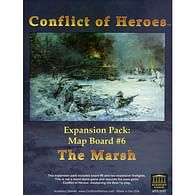 Conflict of Heroes: Map Board 6 - The Marsh