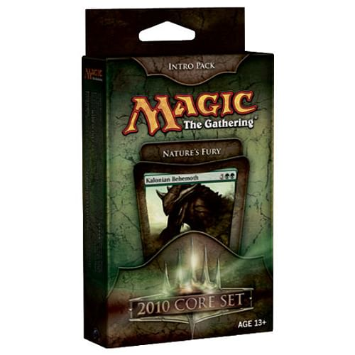 Magic: The Gathering - 2010 Core Set Intro Pack: Nature's Fury