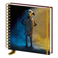 Čtvercový zápisník Harry Potter - Dobby