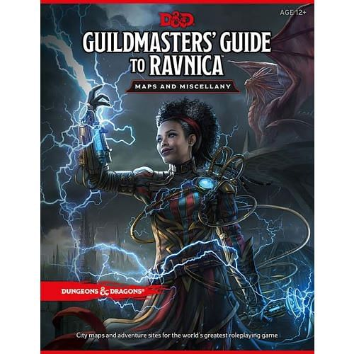 Dungeons & Dragons: Guildmasters Guide to Ravnica Maps and Miscellany