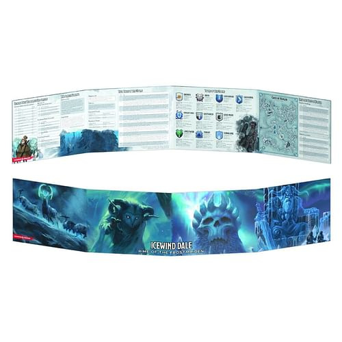 D&D Icewind Dale: Rime of the Frostmaiden DM Screen