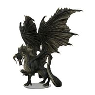 D&D Miniatures: Icons of the Realms - Adult Black Dragon Premium