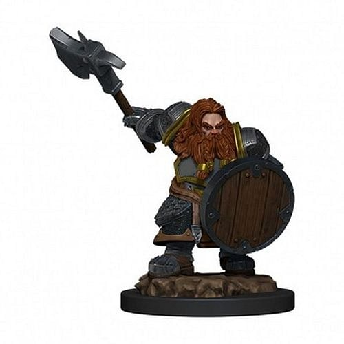 D&D Miniatures: Icons of the Realms - Dwarf Fighter Male