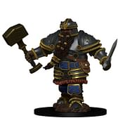 D&D Miniatures: Icons of the Realms - Dwarf Male Fighter