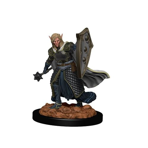 D&D Miniatures: Icons of the Realms - Elf Male Cleric