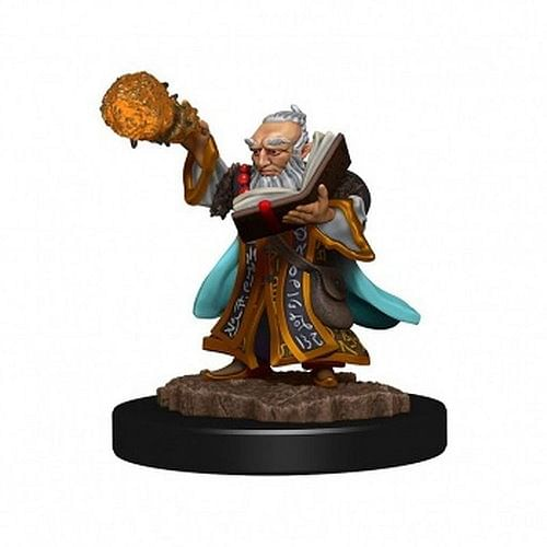 D&D Miniatures: Icons of the Realms - Gnome Wizard Male