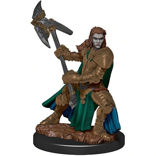 D&D Miniatures: Icons of the Realms - Half-Orc Fighter Female