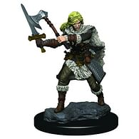 D&D Miniatures: Icons of the Realms - Human Female Barbarian