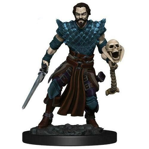 D&D Miniatures: Icons of the Realms - Human Warlock Male