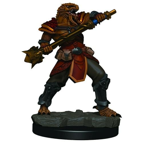 D&D Miniatures: Icons of the Realms - Male Dragonborn Fighter