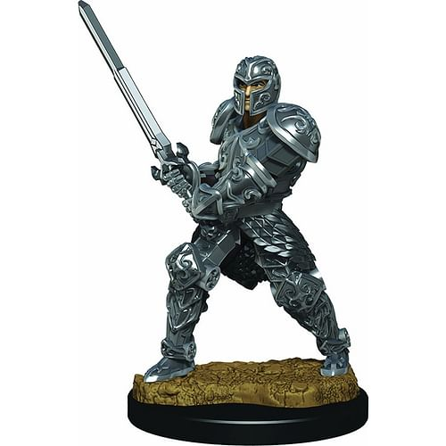 D&D Miniatures: Icons of the Realms - Male Human Fighter