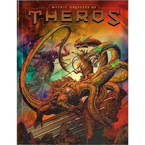 D&D Mythic Odysseys of Theros (alternativní obal)