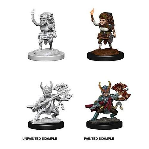 D&D: Nolzur s Miniatures - Female Halfling Fighter