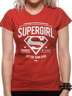 Dámské tričko DC Comics - Supergirl Better Than Ever