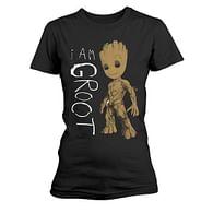 Dámské tričko Guardians of the Galaxy 2 - I Am Groot