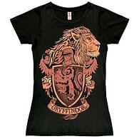 Dámské tričko Harry Potter - Gryffindor Logo