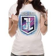 Dámské tričko Justice League - Purple Shield
