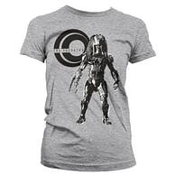Dámské tričko Predátor - šedé