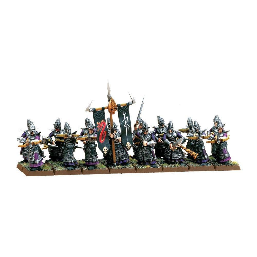Warhammer Fantasy Battle: Dark Elf Warriors Regiment