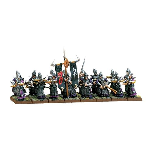 Warhammer Fantasy Battle: Dark Elf Warriors Regiment