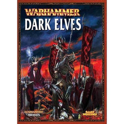 Warhammer Fantasy Battle: Army Book Dark Elves - old