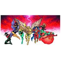 DC Comics Deckbuilding Game: Heroes Unite Playmat