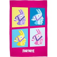 Deka Fortnite - Růžová lama