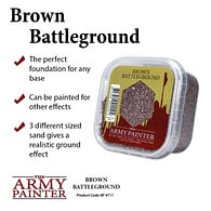 Dekorace Army Painter - Brown Battleground, posyp