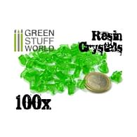 Dekorace Green Stuff World: Green Resin Crystals