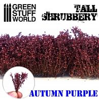 Dekorace Green Stuff World - Tall Shrubbery: Autumn Purple