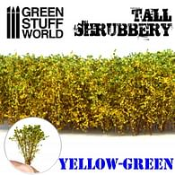 Dekorace Green Stuff World - Tall Shrubbery: Yellow Green