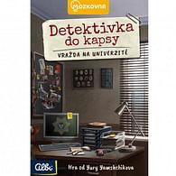 Detektivka do kapsy - Vražda na univerzitě (1. případ)