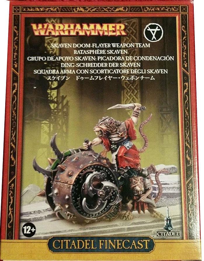 Warhammer Fantasy Battle: Skaven Doom-Flayer