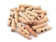 Dřevěný knoflík
