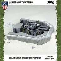 Dust Tactics: Allied Fortification - Field Phaser Bunker/Strongpoint