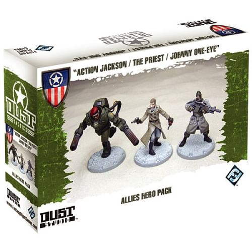 Dust Tactics: Allies Hero Pack