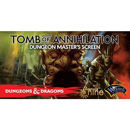 Dungeon and Dragons: Tomb of Annihilation DM Screen