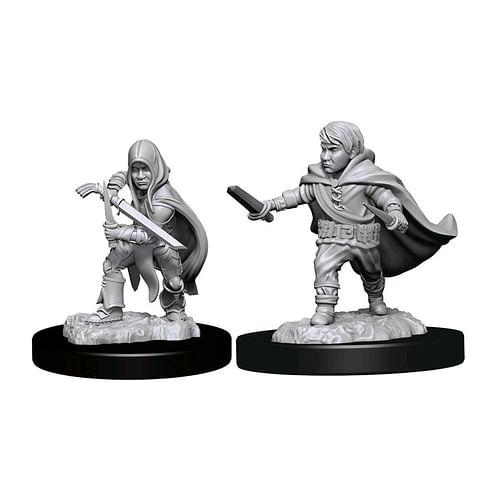Dungeon & Dragons Nolzur s Marvelous Miniatures - Halfling Rogue Male