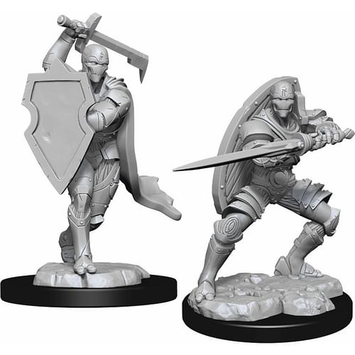 Dungeon & Dragons Nolzur s Marvelous Miniatures - Warforged Fighter Male